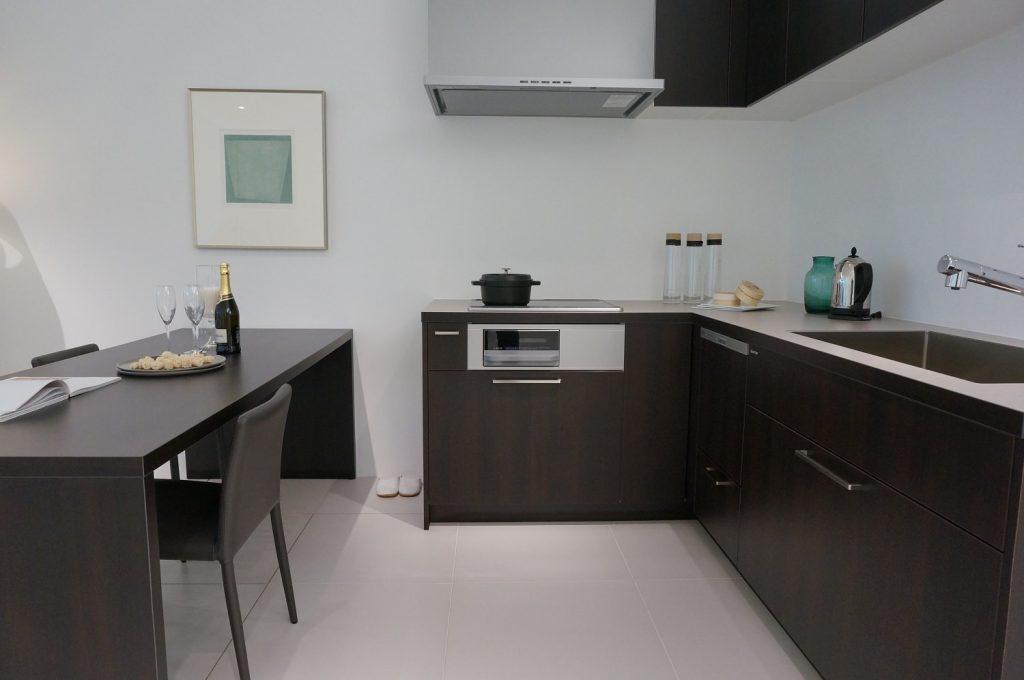 グラフテクト(GRAFTEKT)キッチンのヴェンゲ色