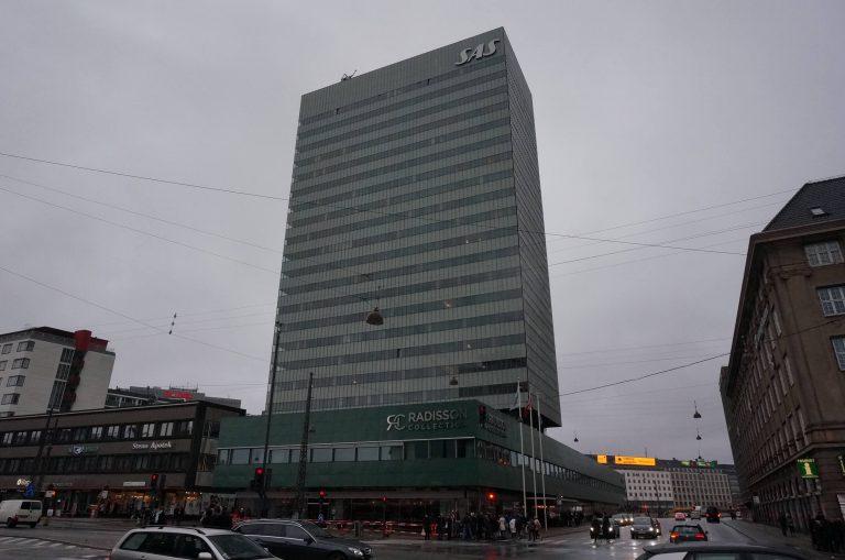 SASロイヤルホテル(ラディソン・ブル・ホテル/コペンハーゲン)