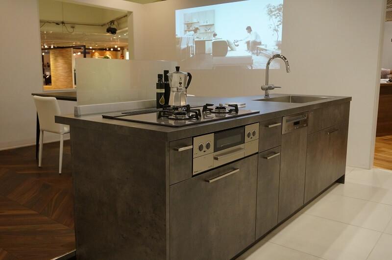 グラフテクトキッチン+45cmミーレ食洗機その2