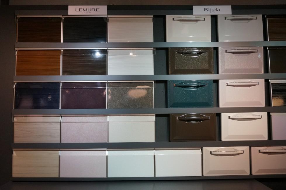 タカラスタンダードのキッチン扉の色・カラー選択肢