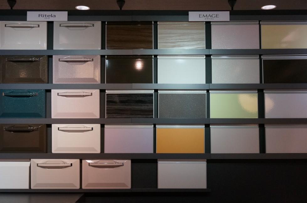 タカラスタンダードのキッチン扉の色・カラー選択肢 エマージュなど