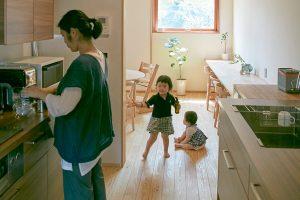 ii型キッチンの実例