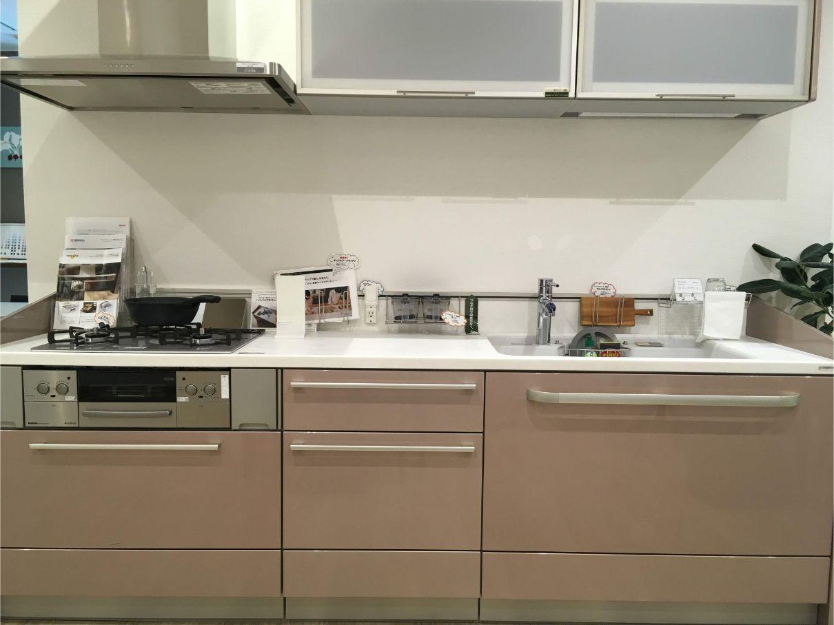 壁付けのトクラスキッチン