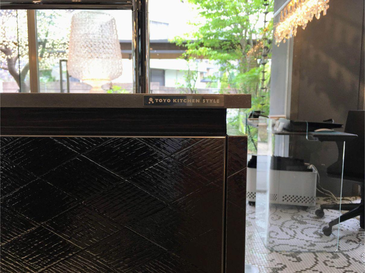 1Fはメインのキッチン展示エリア