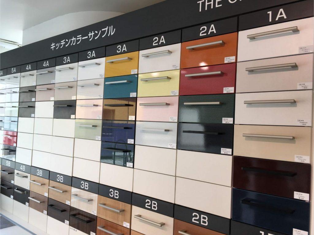 TOTOのキッチンのパネルの色・カラー