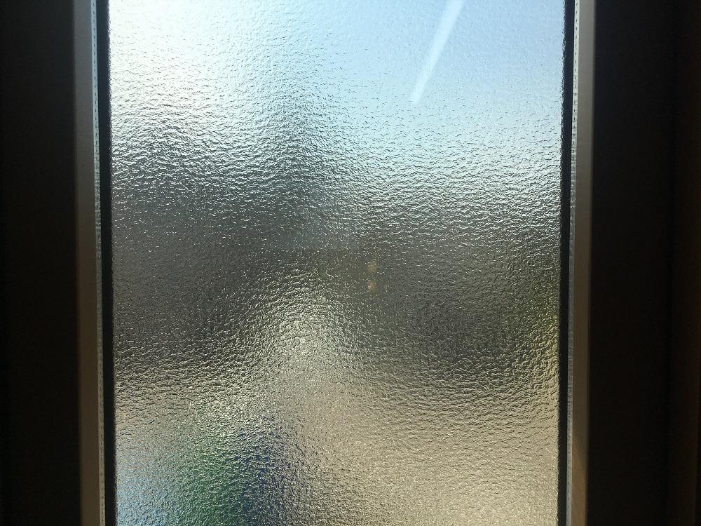 型ガラスのアップ画像