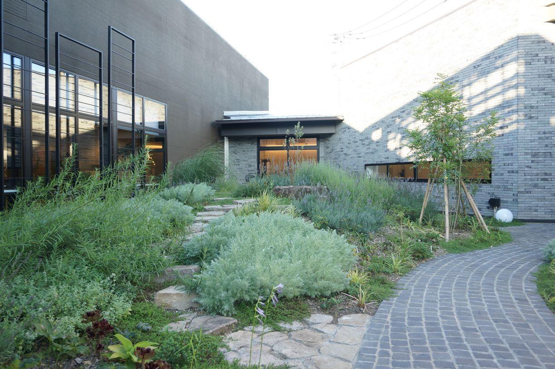 キッチンハウス立川ショールームの内庭