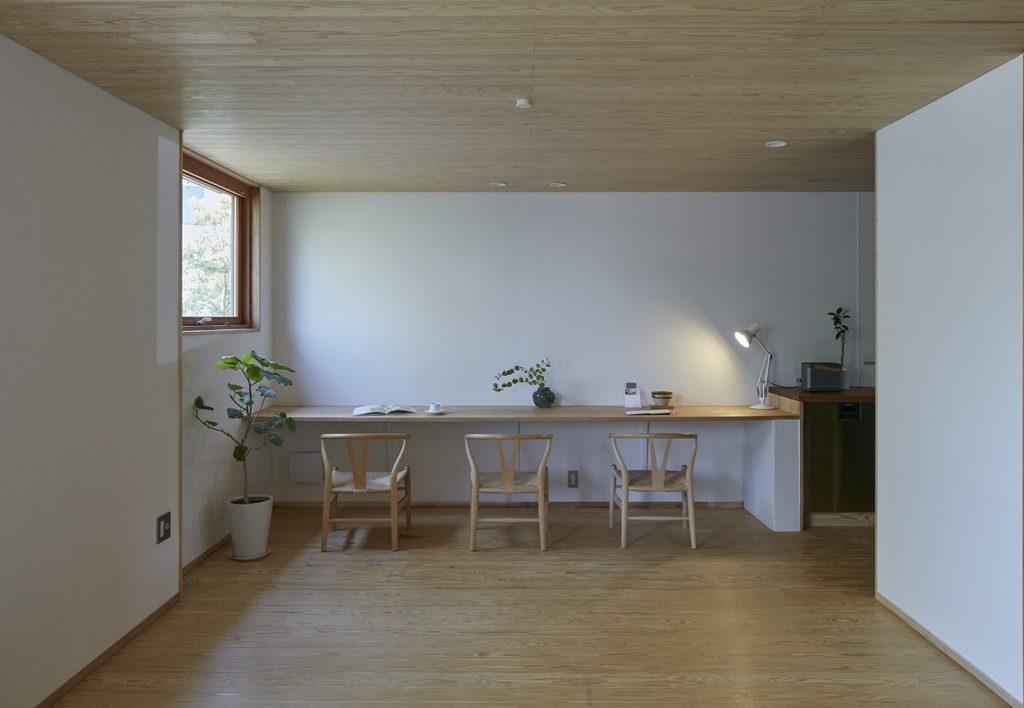 でんホーム鳥飼モデルハウスの杉の床
