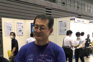 伊礼智先生のアップ写真