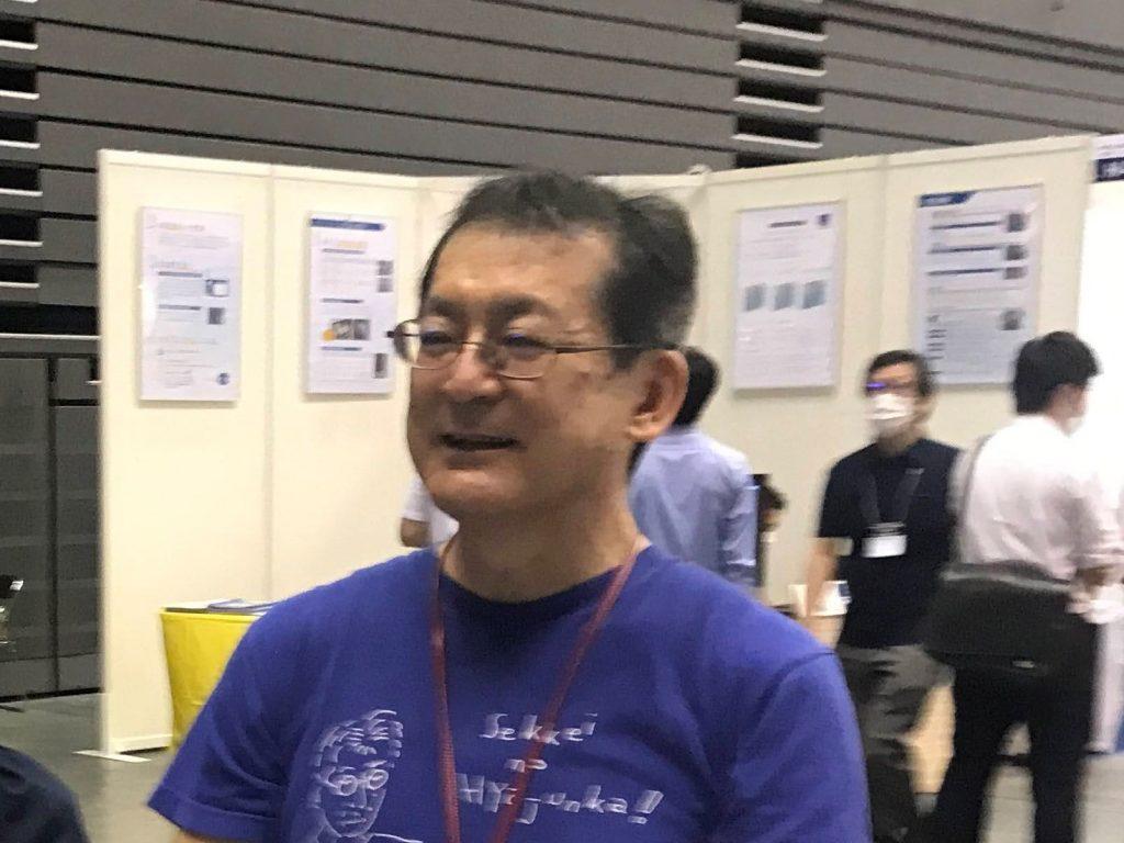 伊礼智先生の顔写真アップ2