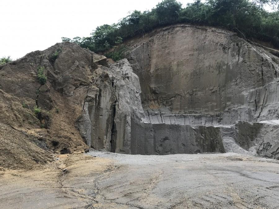 シラスの採掘場(原料の産地)